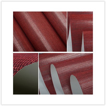 red grasscloth  sisal  natural texures wallpaper 6002 for hotel ceiling office home club shop  wall
