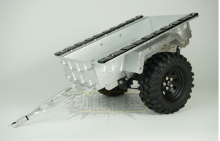 1:10  metal trailer trailer lorry and wheels set fit  SCX10 CC01 F350 HILUX 90034 RC4WD D90