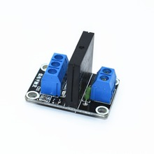 TENSTAR ROBOT 5V 1 Channel SSR G3MB-202P Solid State Relay Module 240V 2A Output with Resistive Fuse For Arduino