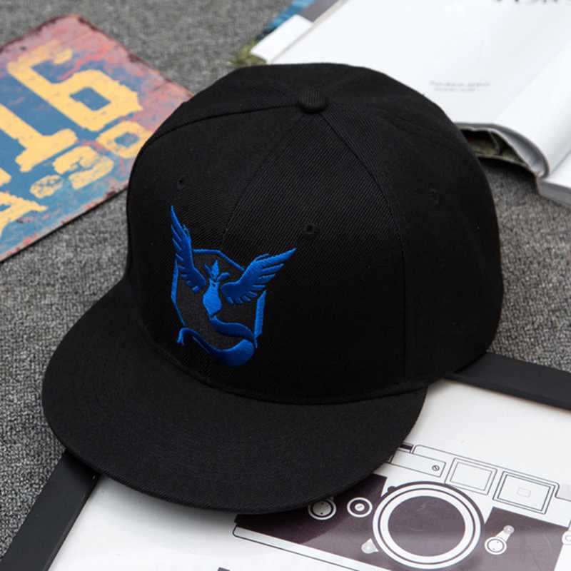 967d5c98a09 Men Women Baseball caps Snapback cap Bone Aba Reta Pokemon Wizard Pokemon  go peaked cap and