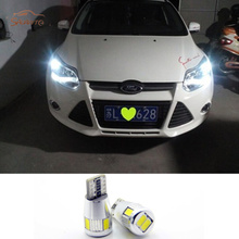 2x LED Clearance Lights For Ford Focus 2 3 4 1 Fiesta Fusion mondeo mk3 mk4 kuga mustang ka accessories(China)