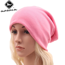 Norvin Street Hip Hop Women Cap Knitted Cotton Hair Accessories  Elastic 18 Colors Hat for Girl New Summer 2017 Gift top