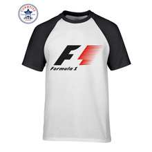 Hot sale Mix Color Clothes Casual Formula 1 Race Car funny t shirt for men short sleeve