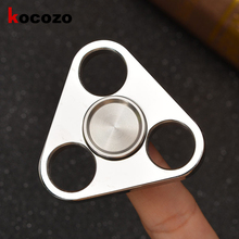 Buy Rotation Time Long Tri-Spinner Fidget Funny Toys Stainless Steel EDC Fidget Spinner Hand Spinner Kid Adults Anti Stress Toys for $21.99 in AliExpress store