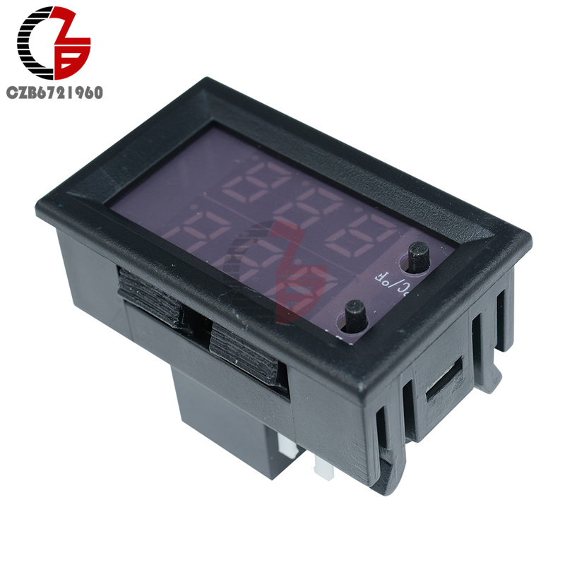C/F W1209WK DC 12V Digital LED Display Thermostat Temperature Controller Thermometer Control Switch Weather Station NTC Sensor 12