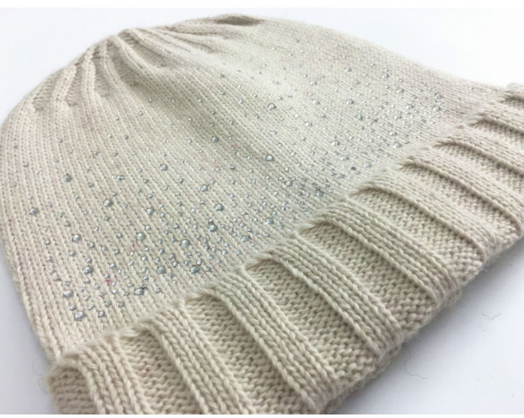 hat scarf set  Scarf, Hat & Glove Sets knitted  winter hat and scarf woman with diamond  (10)