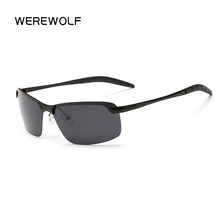 WEREWOLF Hot New Men Polarized Sunglasses Men Brand Designer Male Vintage Sun Glasses Eyewear gafas oculos de sol Gozluk P3043(China)