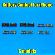 6 models New Inner FPC Connector Battery Holder Clip Contact replacement on motherboard for Iphone 4g 4s 5g 5s 6 5.5 4.7(China)