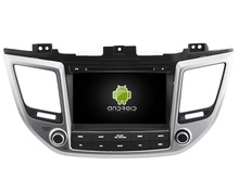 Android 5.1.1 CAR Audio DVD player FOR HYUNDAI TUCSON IX35 2016 gps Multimedia head device unit  receiver BT WIFI