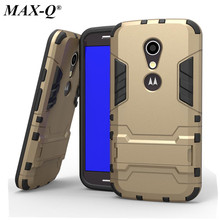 G2 Case Hybrid TPU & PC Stand Hard Back Cover Phone Cases For motorola G2 Full Protective Shell Fundas