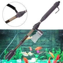 Electric Aquarium Fish Tank Battery Gravel Cleaner Washer Vacuum Syphon