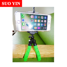 NEW Portable Phone Camera Holder Flexible Octopus Tripod Bracket Stand Mount Monopod Styling Accessories For Mobile Phone Camera