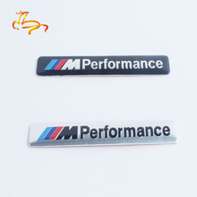 Car styling on cars 3D metal funny car stickers for car BMW m m3 m5 X1 X3 X5 X6 e46 E30 E39 E90 e92 e60 e36 F30 f10 accessories(China)