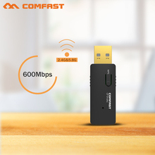 New COMFAST 600Mbps 802.11AC laptop Dual Band 2.4Ghz+5Ghz USB 2.0 Wireless/WiFi AC network Adapter CF-913AC Access point adaptor