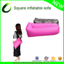 Nature hike Outdoor 210D Nylon Waterproof Fast Inflatable Sleeping Bag Soft Beach Sofa Lounger Bed Lazybones Air Laybags