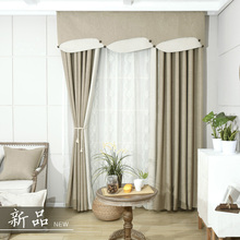 Blackout Curtains For Living Room Blue Solid Bedroom Window Curtain Green Drapes Insulated Thermal Panels Embroidered Sheers New