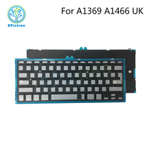 "Brand New UK keyboard Backlight Backlit For MacBook Air 13.3"" A1369 A1466 2010-2015 Years"