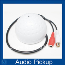 Sound Monitor Audio Pickup Security Listening for CCTV Camera Audio Camera Microphone(Low Noise ,Sensitivity Adjustable)