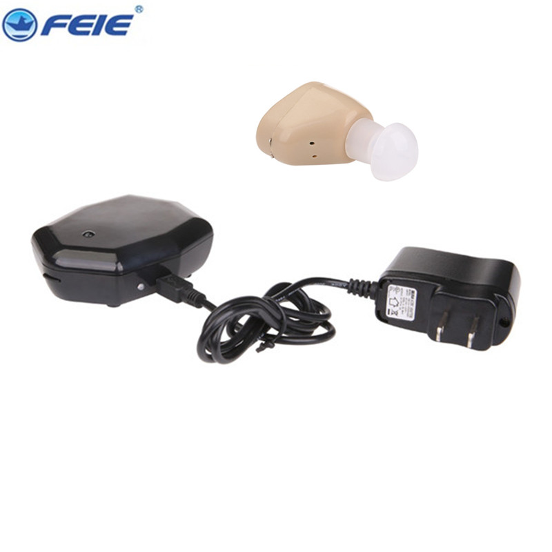 S-219 Rechargeable ear hearing aid mini device sordos ear amplifier hearing aids in the ear for elderly apparecchio acustico<br>