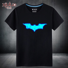 2017 Fashion T-shirts Comic&TV Superhero all stars 100% Cotton Tshirts Luminous Pattern Spring&Summer wear for Teenagers