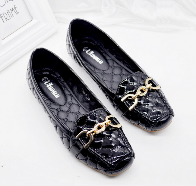 Women Shoes 2017 New Brand patent Leather Shoes Ballerina Blue Ballet Flats Casual Soft Leather Fashion size 35-42<br><br>Aliexpress