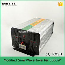 MKM5000-121G modified sine inverter 110/120vac 5000w 12v solar off grid 5kw inverter for home application(China)