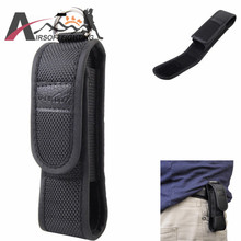 11x2.6cm Small Flashlight Pouch Holster Accessory Tools Case 7cm/2.5'' Belt Buckle Designed Pouch Tactical Hunting Torch Holder