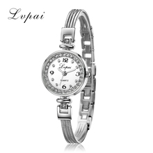 Lvpai Brand Cheap Top Fashion Ladies Watches Women Crystal Luxury Wristwatch Women Dress Watches Female Quartz Electronic Watch
