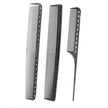 High Quality Japan Salon Haircut Comb With Measurement 3pcs/Lot Hairdressing Comb Set For Barber Antistatic Hair Tail Comb Y8-03