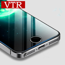 VTR 0.26mm 2.5D 9H Premium Tempered Glass for iphone 5 5s se Screen Protector protective glass protection full cover glass