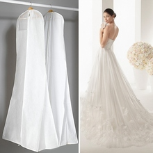 2017 Rushed Direct Selling Eco-friendly Square Wardrobe Wedding Dress Bags Garment Closet Dust Cover Evening Bridal Storage Bag(China)
