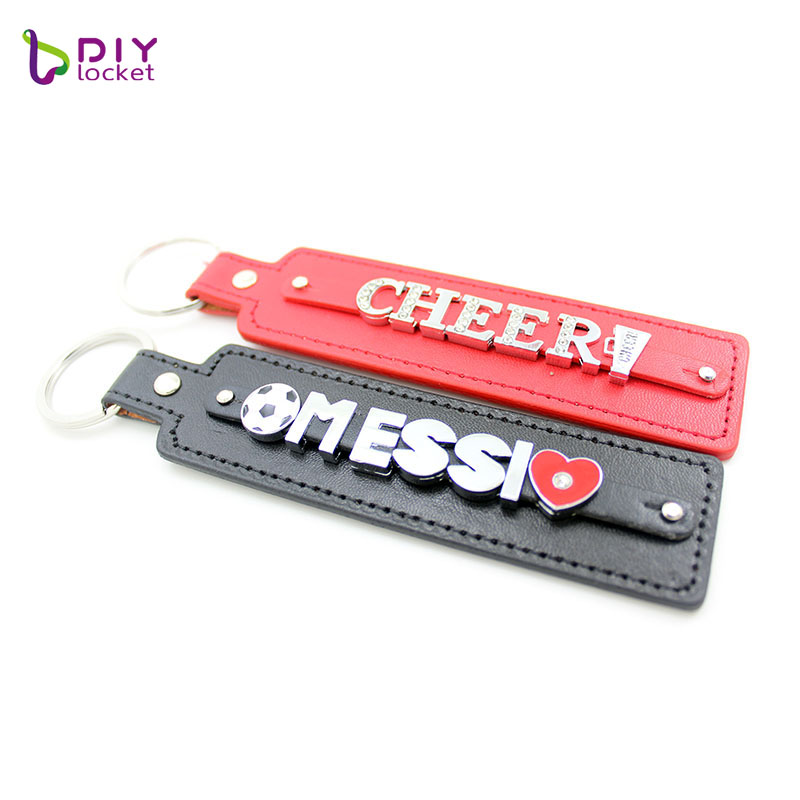 PU leather keychain  LSBR017 3