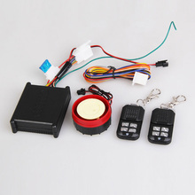 Universal Motorcycle Alarm System Remote Car Alarm 12V Motorcycle Alarm Anti-Theft Security Alarm with 2 Remote Control