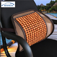 KKYSYELVA Car Seat Supports Mesh Lumbar Support for office home Chair Back Pain Support Cushion Pad Interior Accessories(China)