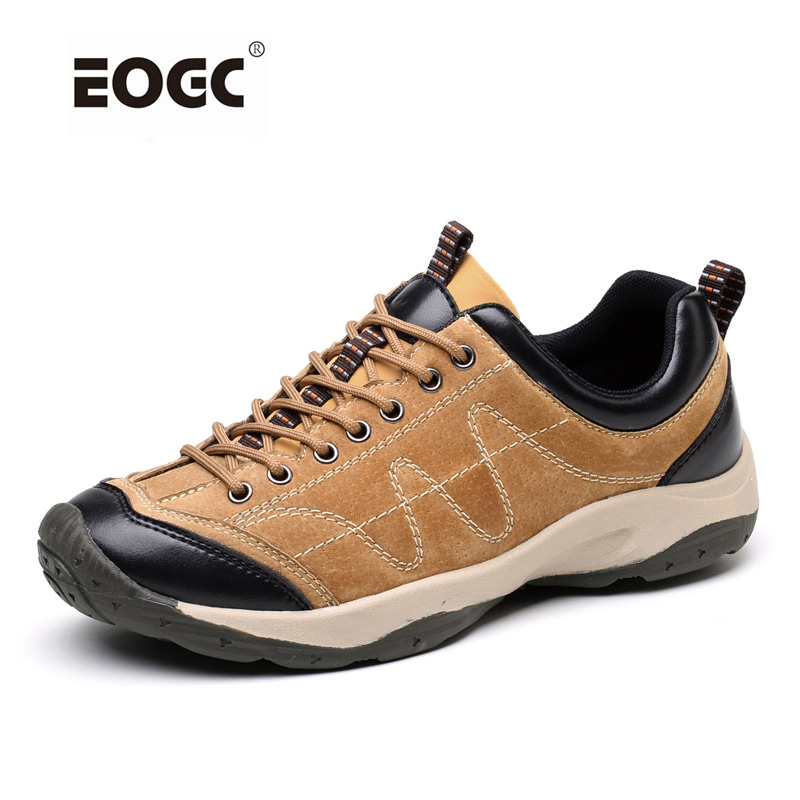 New Arrivals Mens High Quality Casual Shoes Fashion Breathable Flat Shoes Nubuck Leather Round Recreational Men Shoes<br>