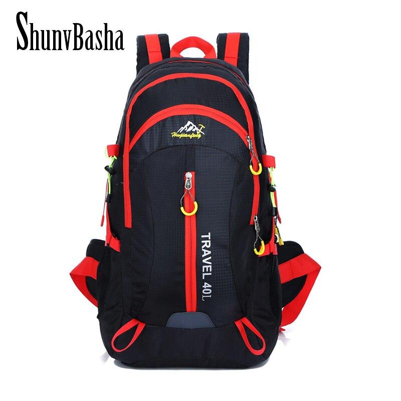 ShunvBasha 40L Large Waterproof Travel Bags Rucksack Men Nylon Out Bicycle Backpacks Bag women Backpack<br><br>Aliexpress