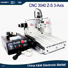 CNC 3040 Z-S 800W water cooling Wood Engraving machine 3040Z-S PCB engraver carving cutting router