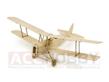 MinimumRC Tiger Moth 400mm Wingspan Micro RC Balsa Wood Laser Cut Building Kit RC Airplane KIT Brushless Version K10(China)