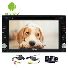 Android 6.0 GPS Navigation Radio Electronics Bluetooth Autoradio 2 Din Video Car PC Auto DVD Player Stereo Head Unit+Rear Camera