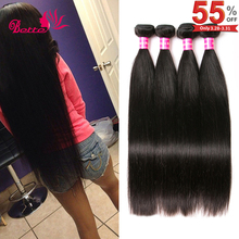 Peruvian Virgin Hair Straight 4 Bundles 8A Peruvian Straight Virgin Hair Weave 100% Human Hair Extensions Straight Peruvian Hair