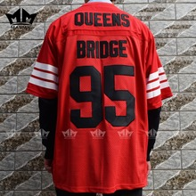 MM MASMIG Prodigy 95 Hennessy Queens Bridge American Football Jersey Red(China)