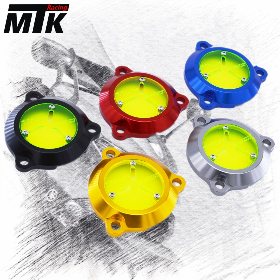 MTKRACING For YAMAHA TMAX530 TMAX 530 2012-2018 Accessories Engine Stator Cover CNC Engine Protective Cover Protector 2017<br>