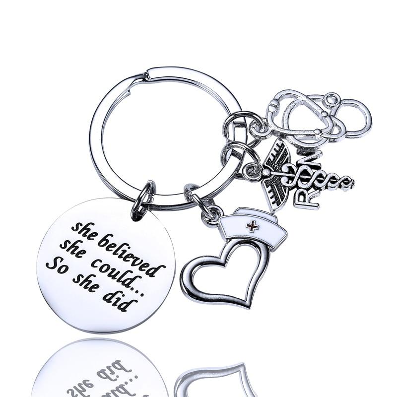 P3493 Dongmanli Medical  Grey/'s Anatomy Keychain Lanyards Id Badge Holder ID