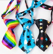 5pc/lot Factory Sale New Colorful Handmade Adjustable Dog Ties Pet Bow Ties Cat Neckties Dog Grooming Supplies