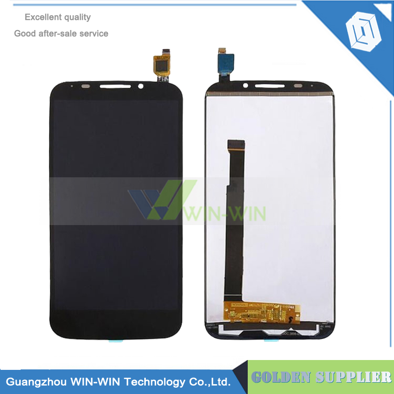 For Alcatel One Touch Pop S7 OT7045 7045 7045Y LCD Display With Touch Screen Digitizer Assembly Free shipping<br>