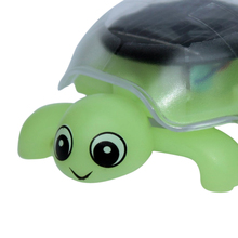 MACH Mini solar energy green turtle toy for children