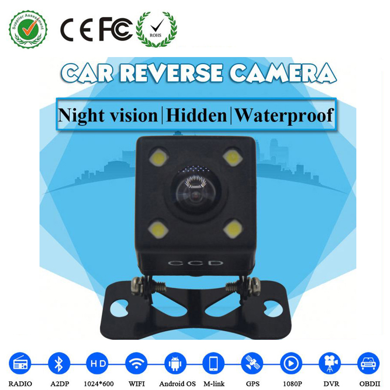 For VW Toyota Honda Waterproof Nissan Night Vision Car Reverse Camera Mini Car Rear View Camera Hidden Car Backup Camera(China (Mainland))