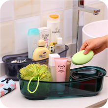 Multifunction Removable bathroom debris storage box soap holder draining rack kitchen bathroom product