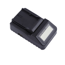 100-240V Display LCD Battery Charger Camera Quick Charger Standard For Canon LP-E6 Series