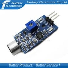 5pcs Sound Detection Sensor Module Sound Sensor Intelligent Vehicle Arduino new Free shipping